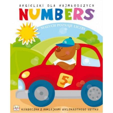 Angielski dla najmłodszych. Numbers |Książka dla dzieci |Edukacja