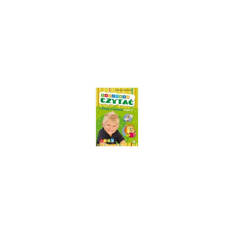 Zaczynam czytać z Zuzią i Leonem cz.2 |Książka dzieci |Edukacja