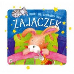 Bajki na spokojny sen - Zajączek |Książka dla dzieci |Edukacja