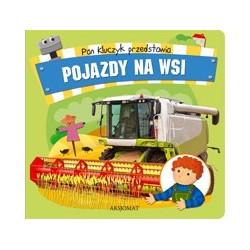 Pan Kluczyk przedstawia- Pojazdy na wsi |Książka dla dzieci |Edukacja