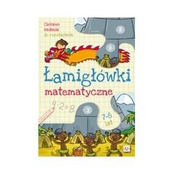 Łamigłówki matematyczne |Książka dla dzieci |Edukacja