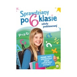 Sprawdziany po 6 klasie szkoły podstawowej |Książka dzieci |Edukacja