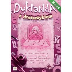 Dyktanda z dreszczykiem - kl.5 |Książka dzieci |Edukacja