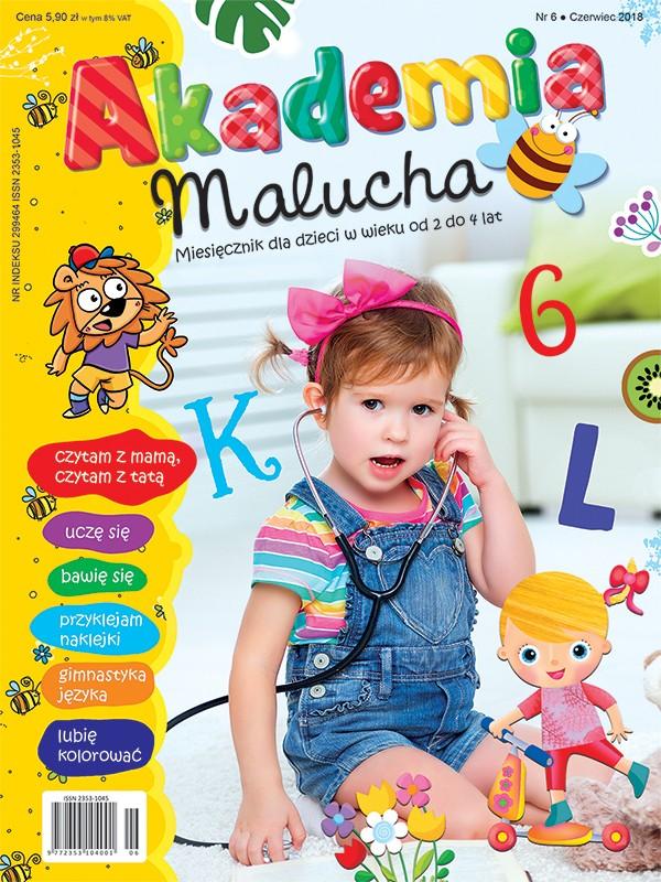 Akademia Malucha - czerwiec 2018                                OSTATNI WYDANY NUMER