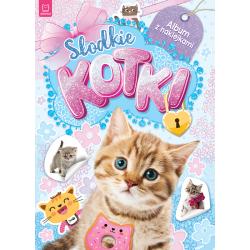 Słodkie kotki. Album z...