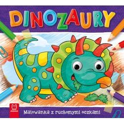Dinozaury. Malowanka z...