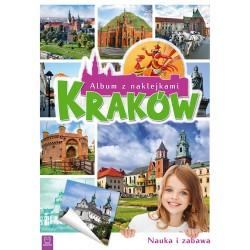 Album z naklejkami. Kraków
