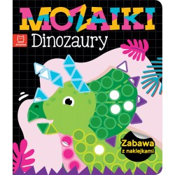 Mozaiki. Dinozaury. Zabawa...