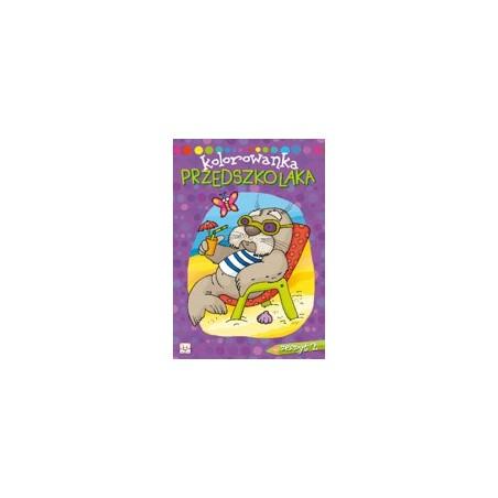 Kolorowanka przedszkolaka zeszyt 2 |Książeczka dla dzieci |Edukacja