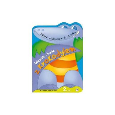 Wesołe chwile z krokodylem cz. 2 |Książka dzieci |Edukacja