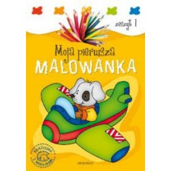 Moja pierwsza malowanka. Zeszyt 1 |Książka dla dzieci |Edukacja