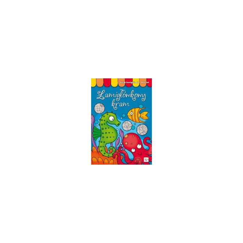 Łamigłówkowy kram od 5 lat |Książka dla dzieci |Edukacja
