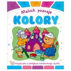Maluch poznaje kolory |Książka dla dzieci |Edukacja