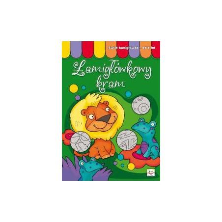 Łamigłówkowy kram od 6 lat |Książka dla dzieci |Edukacja
