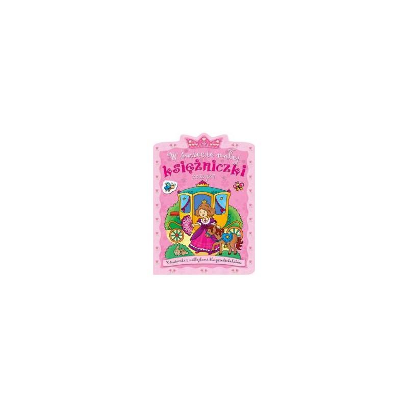 W świecie małej księżniczki. Zeszyt 1 |Książka dzieci |Edukacja