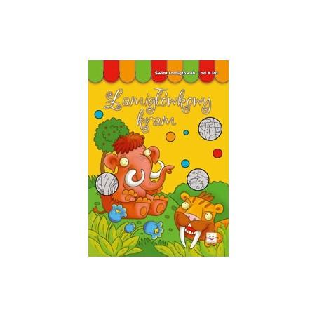Łamigłówkowy kram 8 lat |Książka dla dzieci |Edukacja